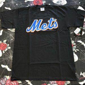 Vintage 2010 Majestic New York Mets Jose Reyes tee